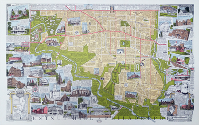 map of Chestnut Hill